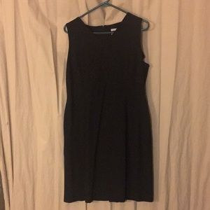 Old Navy black sleeveless dress